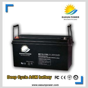 12V-200ah Deep Cycle AGM Solar Battery for Solar Power System
