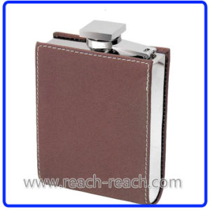 7oz New Design Stainless Steel Hip Flask with Cover (R-HF012) pictures & photos