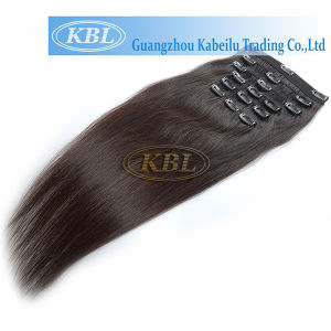 Kbl Clip-in Hair in Stock, Human Hair pictures & photos