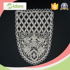New Fashion Style Four Beautiful Flower Regular Rectangular Embroidery Patch pictures & photos