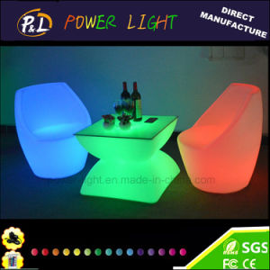 Colorful LED Round Coffee Table / LED Furniture pictures & photos