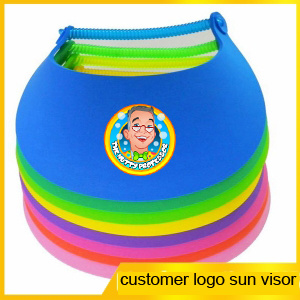Promotional EVA Foam Sun Visors (PM122) pictures & photos