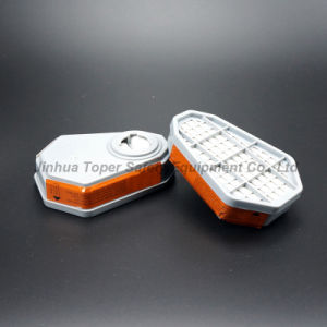 Double Filter Reusable Half Facepiece Chemical Respirator (CR6200) pictures & photos