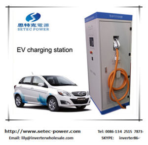 EV DC Fast Charging Station with Chademo Charge Connector pictures & photos