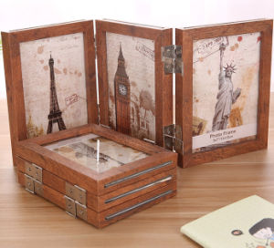 Fashion Collapsible Wooden Photo Frames pictures & photos
