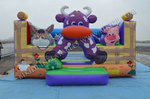 2015 New Design CE Certificate Kids Jumping Inflatable Bouncer House for Sale, Cow Boucy Castle B2189 pictures & photos