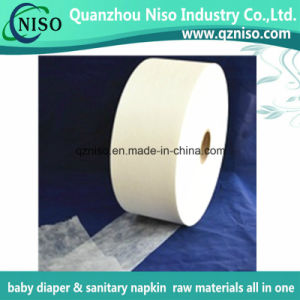 Thermal Bond Hydrophilic Non Woven for Adult Diaper Raw Materials pictures & photos