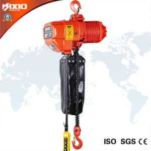 0.5 Ton Hook Type Electric Chain Hoist with Overload Limiter pictures & photos
