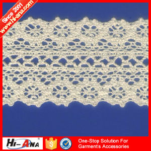 15 Years Factory Experience Multi Color Cotton Crochet Lace pictures & photos