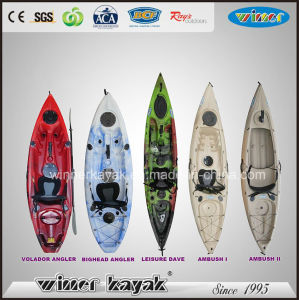 Good Quality Single Plastic Fishing Kayak Large Collection I pictures & photos