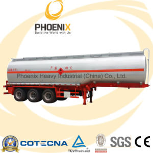 42000L 40t 3axles Fuel Tank Semi-Trailer with Fuwa Axle pictures & photos