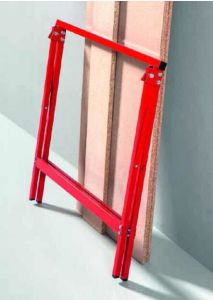 Folding Sawhorse, Trestle, Wood Standing (YH-SH027A) pictures & photos