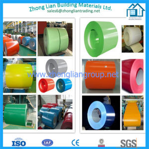 15/5microns Pre-Painted Steel Coil PPGI (ZL-PPGI) pictures & photos