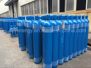 Low Price 50L High Pressure Argon Oxygen Nitrogen Carbon Dioxide Seamless Steel Cylinder pictures & photos