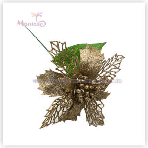 Decorative Flowers for Christmas Tree Decoration pictures & photos