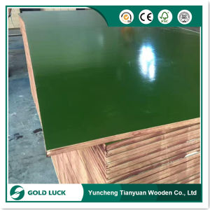 Waterproof PP Plastic Coated Construction Plywood Sheet pictures & photos