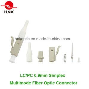 LC PC 0.9mm Simplex Multimode Fiber Optic Connector pictures & photos