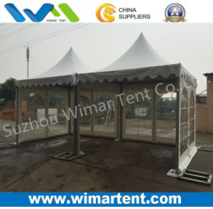 3X6m Pagoda Tent with Church Window and Weight Plate pictures & photos