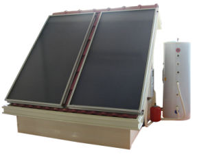 split pressurized flat panel most efficient solar water heater