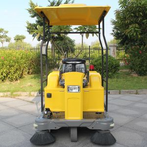 Marshell Produce Ce Battery Power Street Sweeper (DQS12) pictures & photos