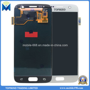 Mobile Phone LCD Display Screen for Samsung Galaxy S7 pictures & photos