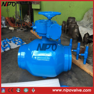 Fully Welded Bw Trunnion Ball Valve pictures & photos