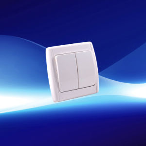 2 Gang European Wall Switch (YW21104)