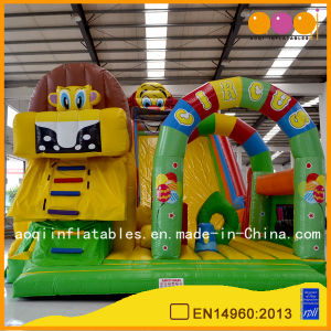 Big Kid Inflatable Lion Circus Fun City (AQ13125) pictures & photos