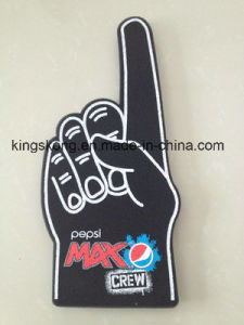 Top Quality Custom Printing Cheering Foam Hand for Sports Game pictures & photos