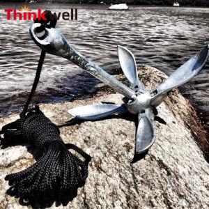 Marine Hardware Galvanized Type a Folding Boat Anchor pictures & photos