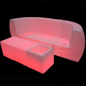 LED Single Sofa Illuminated LED Sofa Garden LED Sofa pictures & photos