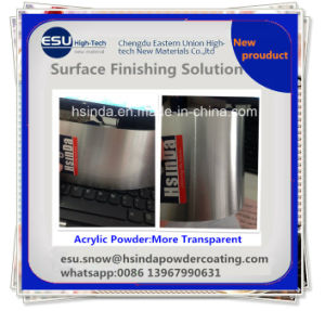 Cheap DIY New Product Recycleable Acrylic Clear Transparent Powder Coating pictures & photos