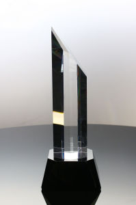 Recognition Trophy Dorado Crystal Top Sales Award pictures & photos