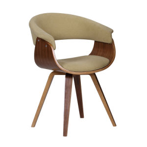 Modern Durable Dining Restaurant Wooden and Fabric Bar Chair (FS-WB1651-1) pictures & photos