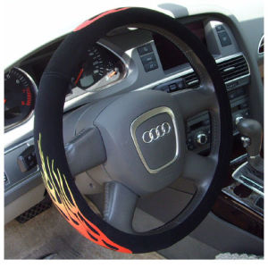 PVC Car Steering Wheel Cover with Reflector pictures & photos