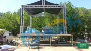 High Loading Backdrop Truss Aluminum Hanging LCD Screen Truss Display Outdoor Events pictures & photos