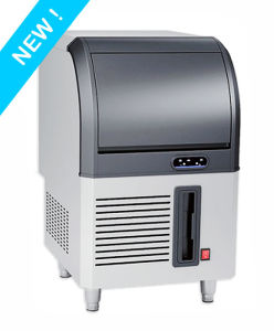 60kg/Day Air-Cooled Energy Saving Undercounter Ice Machine Ce Approved pictures & photos