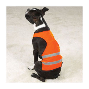 Popular Simple Design Orange Cheap Dog Reflective Vest (UF263W) pictures & photos