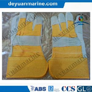 Industrial Leather Hand Gloves Ship pictures & photos