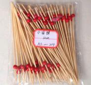 Single Bead Bamboo Stick pictures & photos