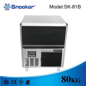 Bar Counter Cube Ice Maker 80 Kg/Day pictures & photos