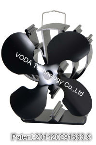 Aluminum Alloy Wood Stove Fan with 4 Blades pictures & photos