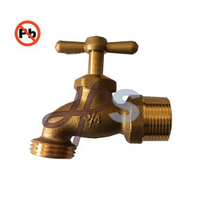 NSF Standard Free Lead Brass Hose Bibcock pictures & photos