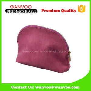 Dumpling Shape Pink Color Multifunction Cosmetic Bag pictures & photos