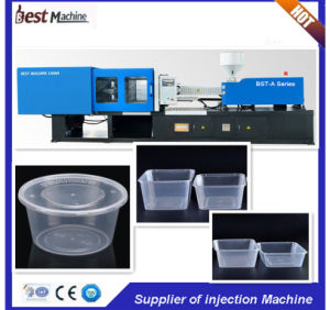 Bst-3850A Quality Assurance of Plastic Fast Food Box Injection Moulding Making Machine pictures & photos