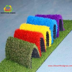 Rainbow Coloured Artificial Grass for Kindergarten pictures & photos