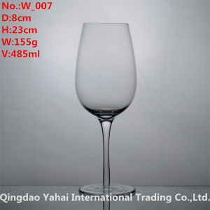 485ml Clear Colored Wine Glass pictures & photos