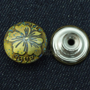 Brass Metal Buttons for Jeans Jacket pictures & photos