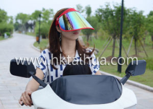 2017 Summer Colour Customized Plastic Sun Hat with Thp-006 pictures & photos
