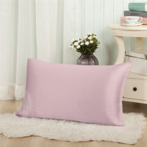 Pink Color 100% 6A Mulberry Silk Envelope Pillowcase pictures & photos
